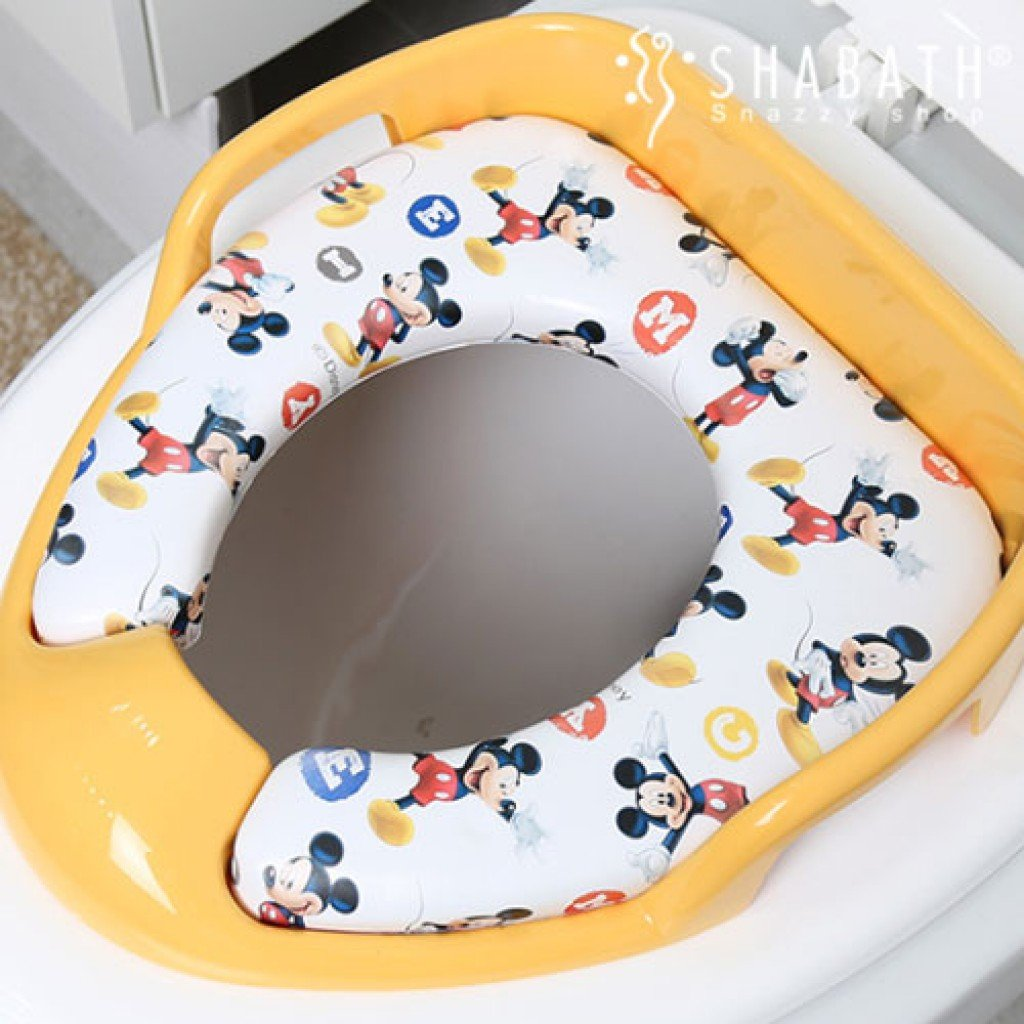 Mickey Mouse Toilet Seat Cover Velcromag