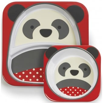 Zoo Melamine Set - Panda